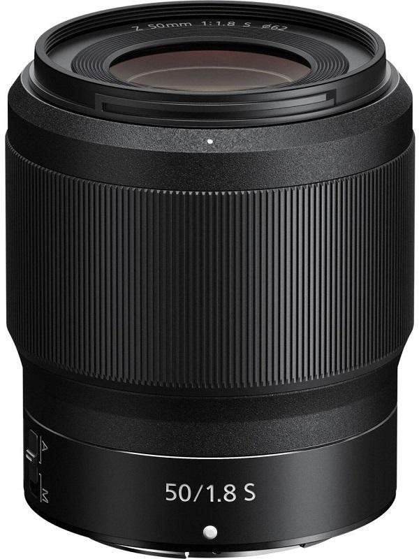 Объектив Nikon Nikkor Z 50 mm f/1.8 S