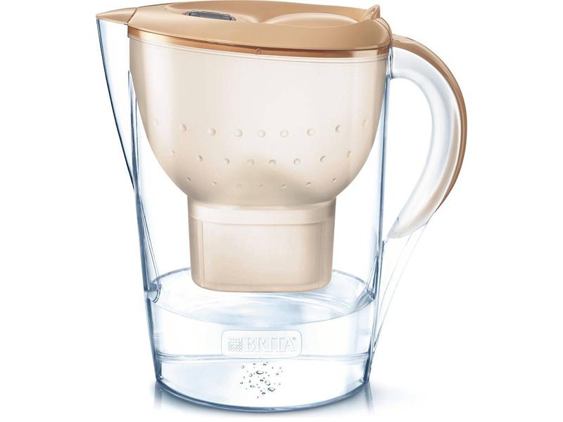 Фильтр для воды Brita Marella XL Memo MX+ Cappuccino