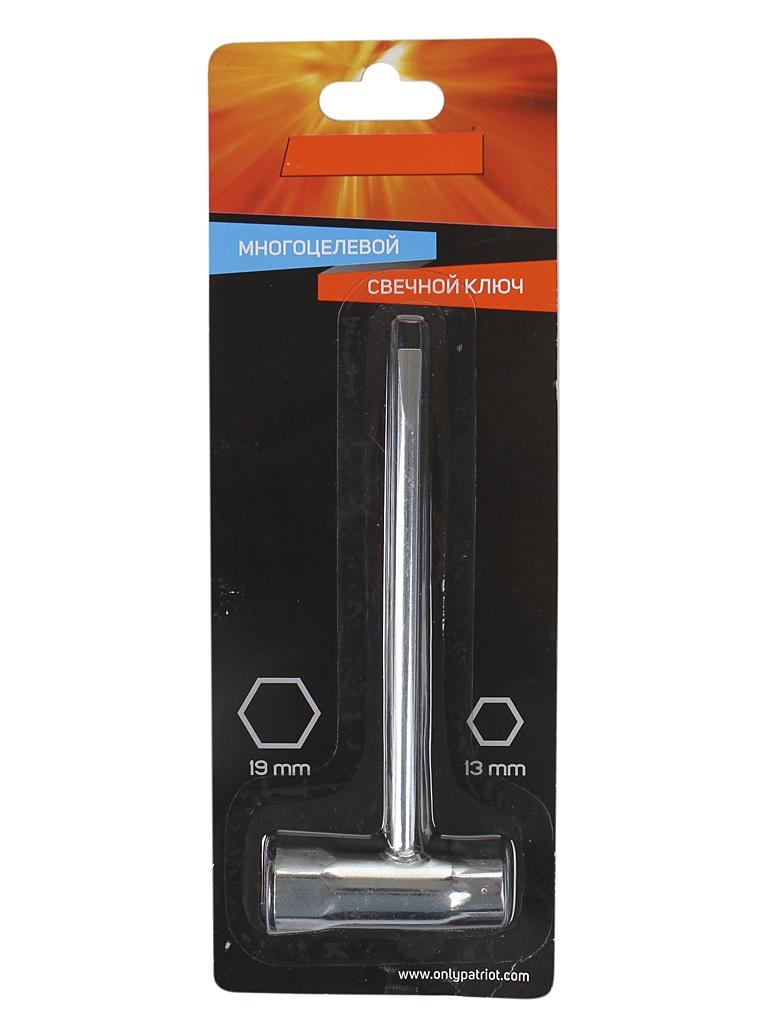 Ключ свечной Patriot универсальный 13x19