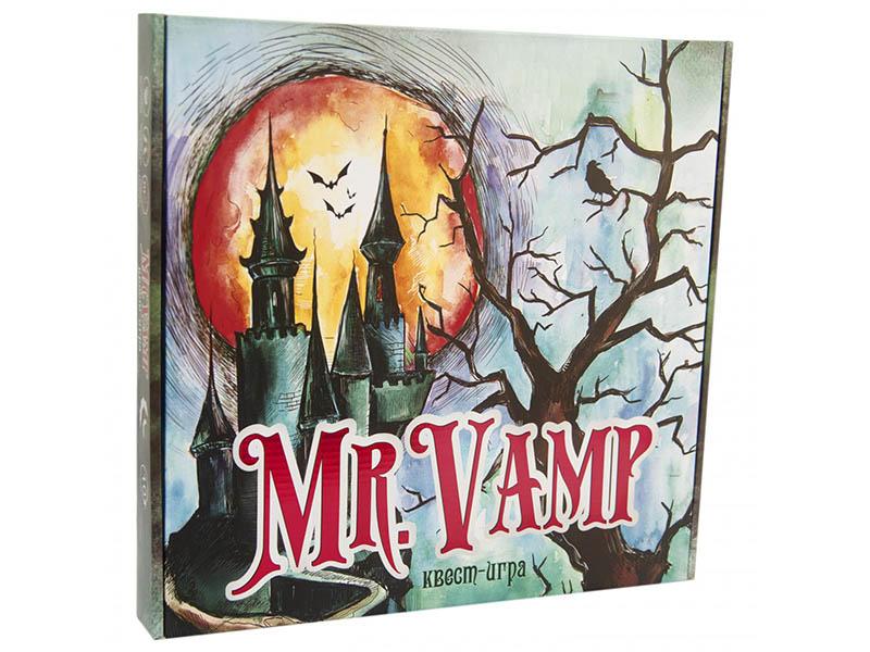 Настольная игра Strateg Mr. Vamp 30616