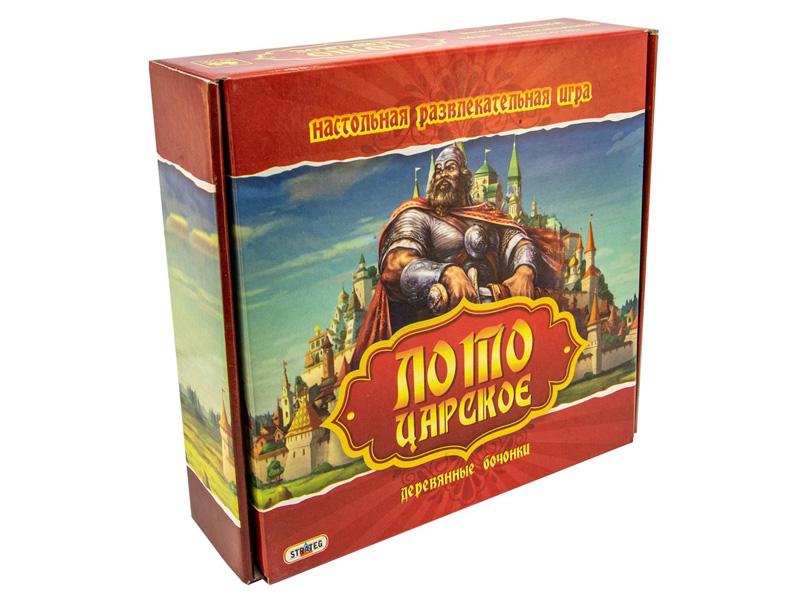 Настольная игра Strateg Лото царское 342 математическое лото