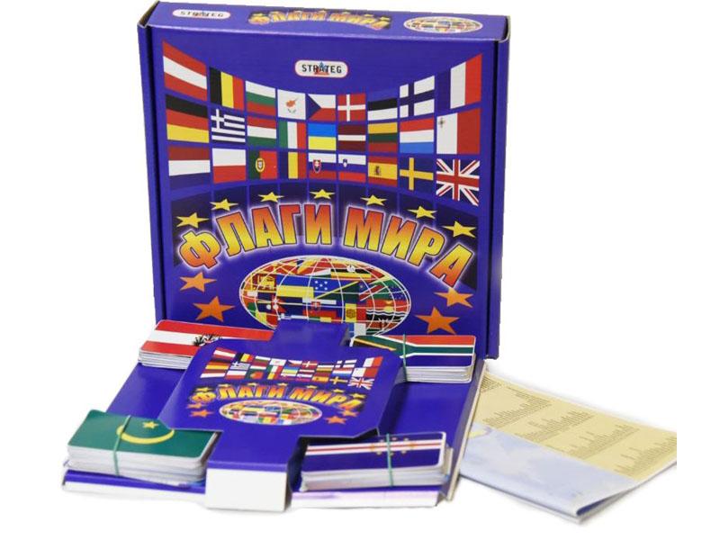 Настольная игра Strateg Флаги мира 709