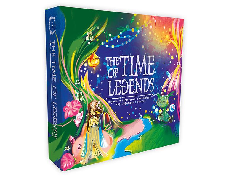 Настольная игра Strateg The Time of Legends 30460