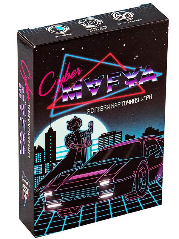 Настольная игра Strateg Cyber Mafya 30663