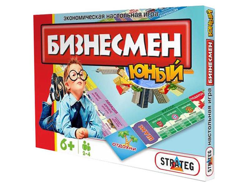 Настольная игра Strateg Юный бизнесмен 331