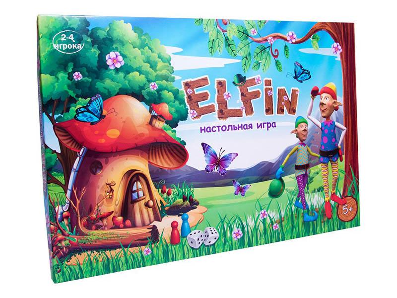 Настольная игра Strateg Elfin 30512