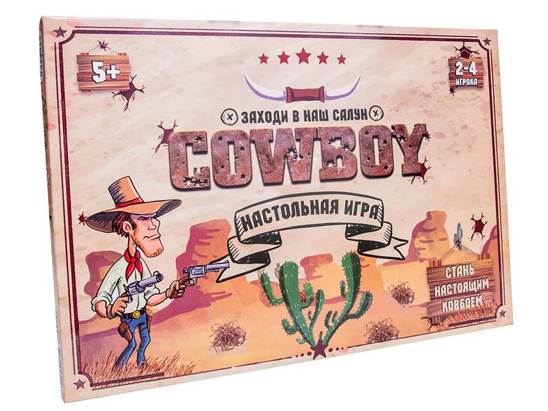 Настольная игра Strateg Cowboy 30314