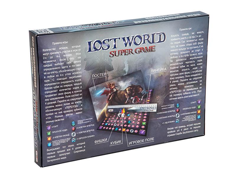 Настольная игра Strateg Lost World 40015