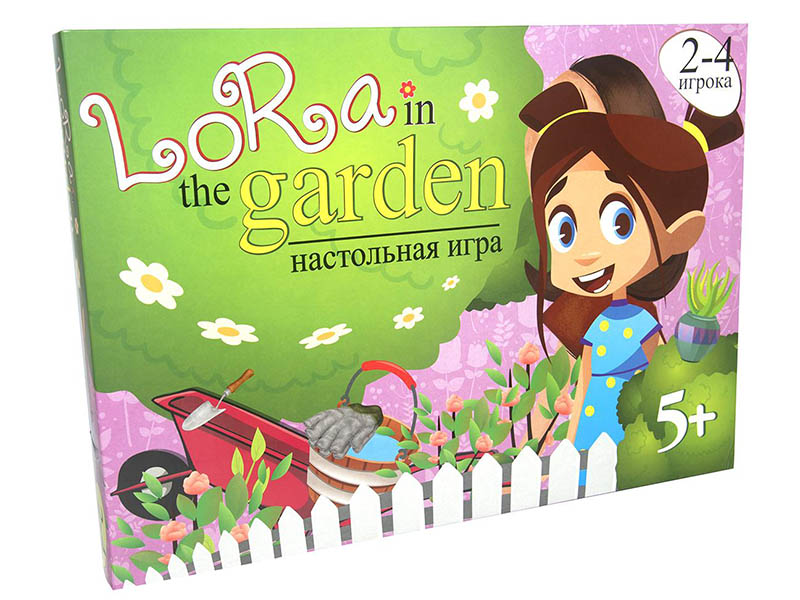 Настольная игра Strateg Lora in the Garden 30514