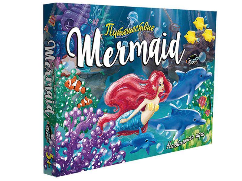 Настольная игра Strateg Путешествие Mermaid 30501