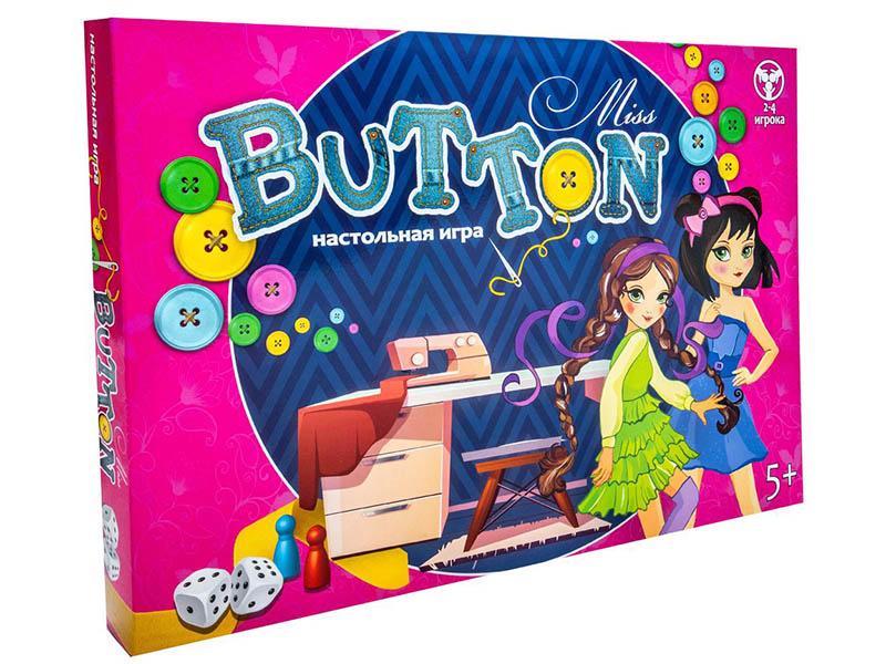 Настольная игра Strateg Miss Button 30355