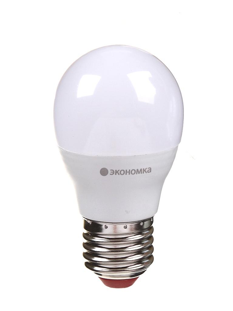 Лампочка Экономка Шарик GL45 E27 11W 230V 3000K 935Lm EcoLED11wGL45E2730