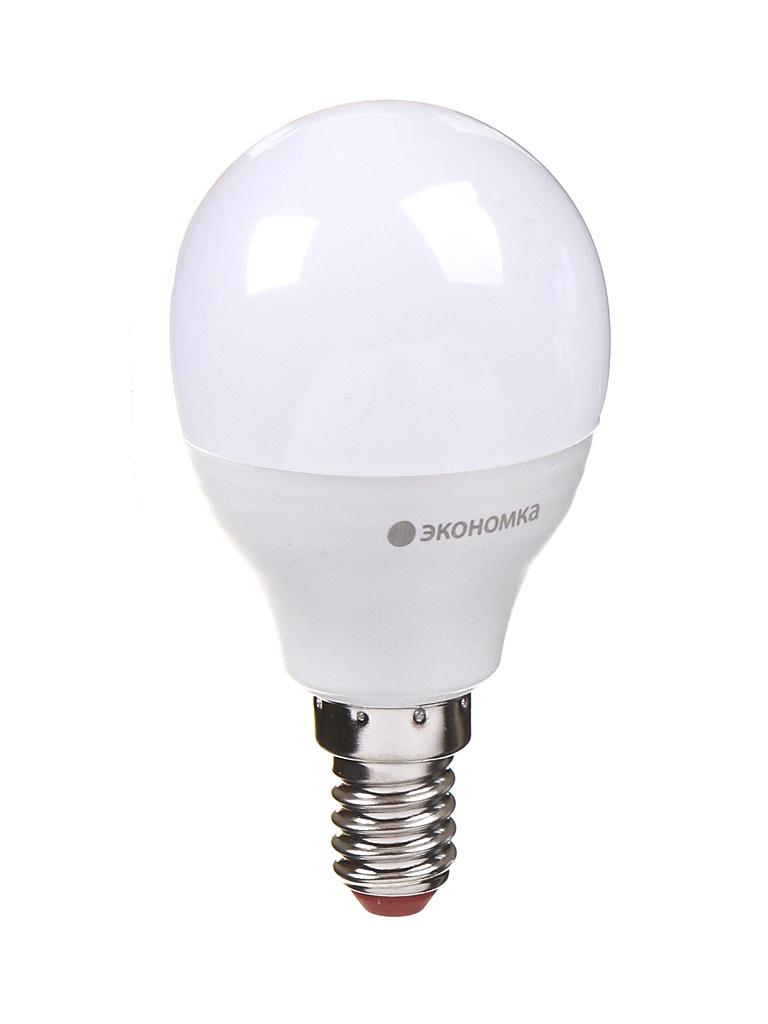 Лампочка Экономка Шарик GL45 E14 11W 230V 4500K 935Lm EcoLED11wGL45E1445