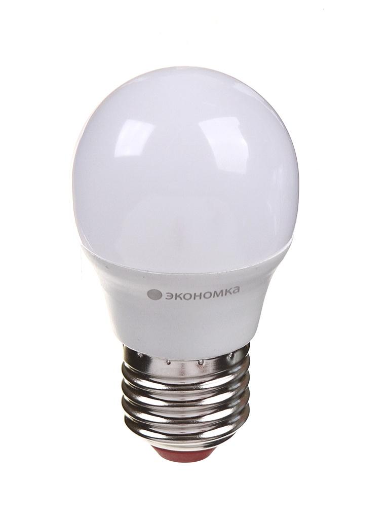 Лампочка Экономка Шарик GL45 E27 9W 230V 3000K 765Lm Eco_LED9wGL45E2730
