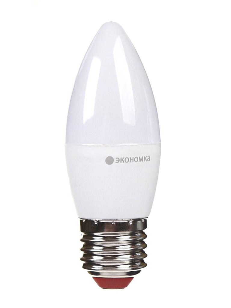 Лампочка Экономка Свеча E27 6W 230V 4500K 510Lm EcoLED6wCNE2745