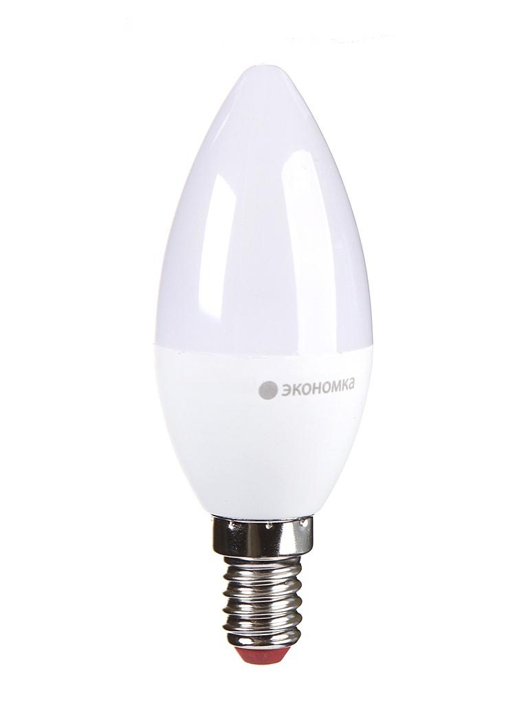 Лампочка Экономка Свеча E14 6W 230V 3000K 510Lm EcoLED6wCNE1430
