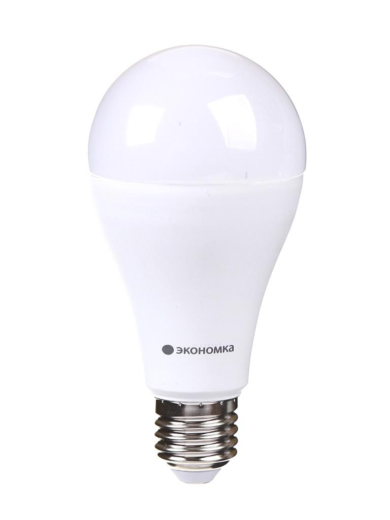 Лампочка Экономка A60 E27 20W 230V 3000К 1800Lm EcoL20wA60230vE2730