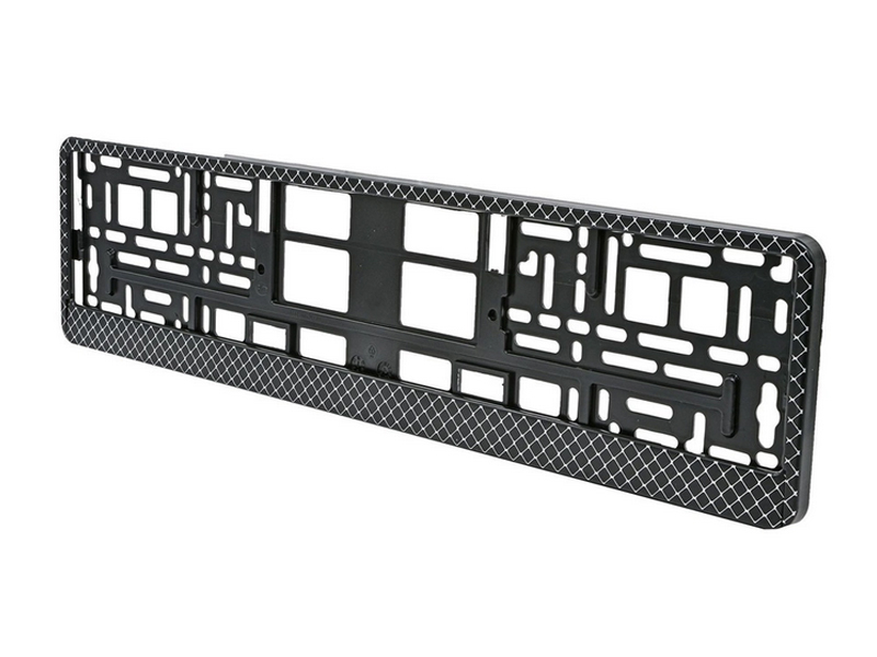 Рамка номерного знака Mashinokom Сетка Black RG100A