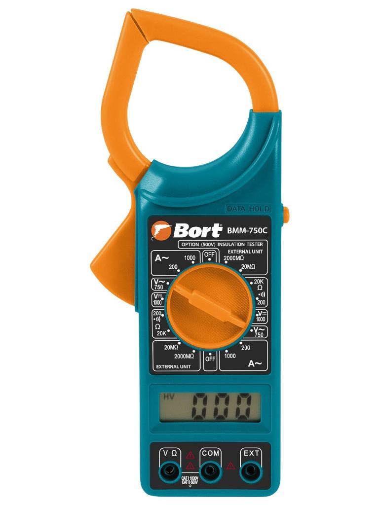 Токовые клещи Bort BMM-750C 93411300