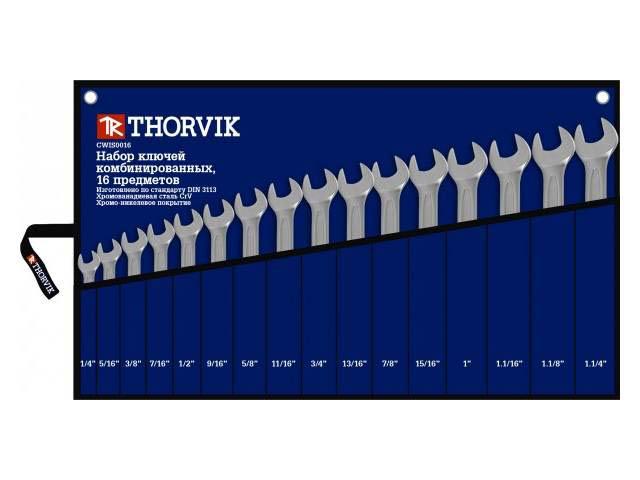 Набор ключей Thorvik CWIS0016