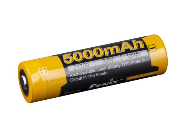 Аккумулятор Fenix 21700 5000 mAh ARB-L21-5000