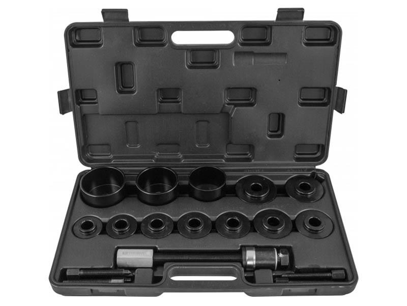 Инструмент Набор для снятия и установки ступицы подшипников Thorvik 15 предметов AFWBK