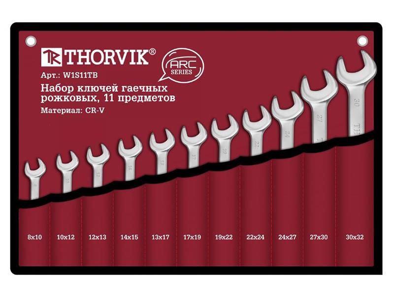 Набор гаечных ключей Thorvik W1S11TB