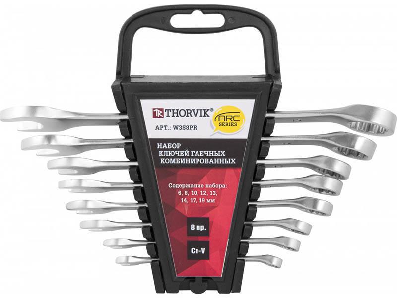 Набор ключей Thorvik ARC W3S8PR