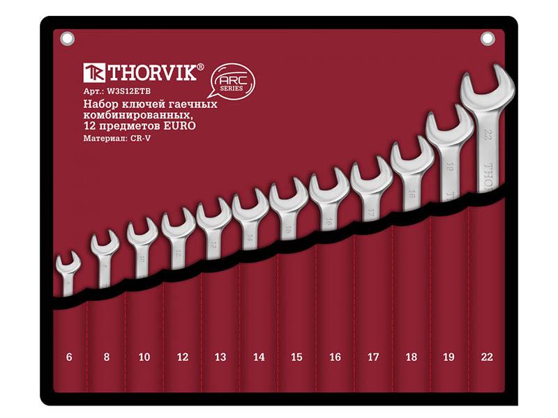 Набор ключей Thorvik ARC W3S12ETB