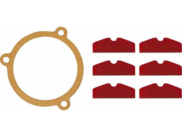 Инструмент Ремонтный комплект для гайковерта пневматического Thorvik RKS212717 ремонтный комплект thorvik rks10410 углового редуктора ушм aag0410