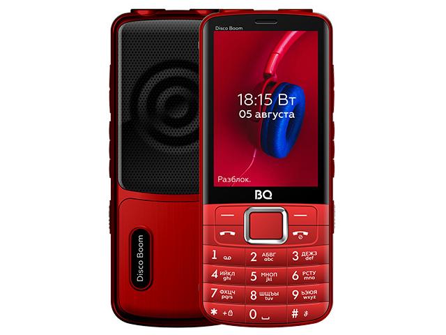 Сотовый телефон BQ 3587 Disco Boom Red