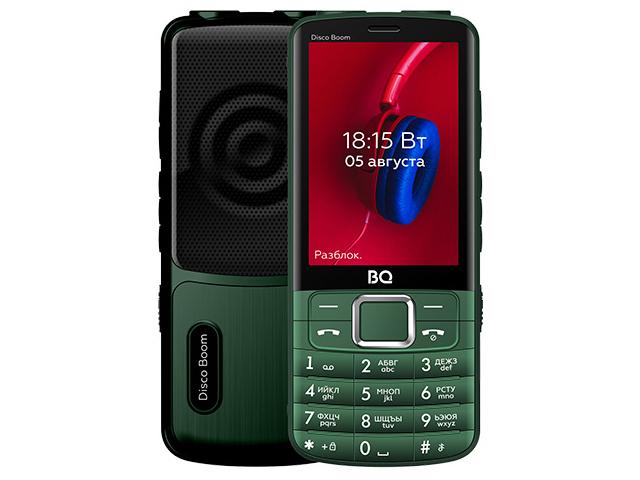 Сотовый телефон BQ 3587 Disco Boom Green