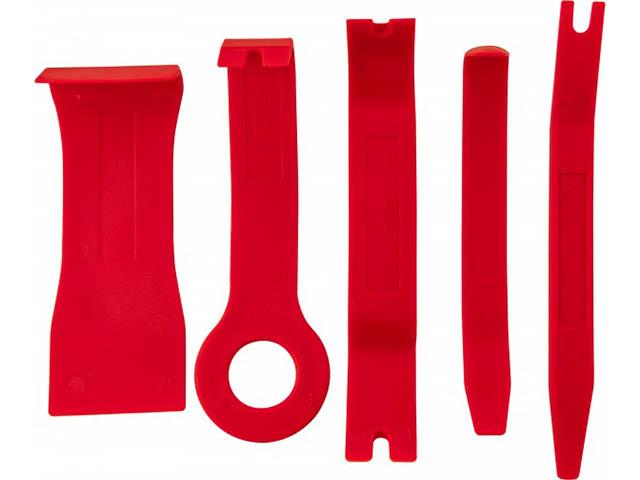 Инструмент Набор приспособлений для демонтажа декоративных панелей салона автомобиля Thorvik 5 предметов AURTS5