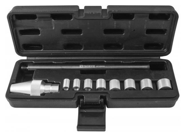 цена на Инструмент Набор оправок для центровки ведомого диска сцепления Thorvik 10 предметов ACATS10