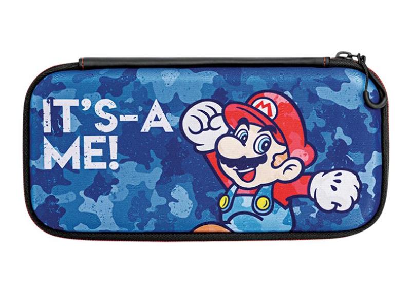 Дорожный чехол Nintendo Switch Slim Mario Camo 500-104-EU
