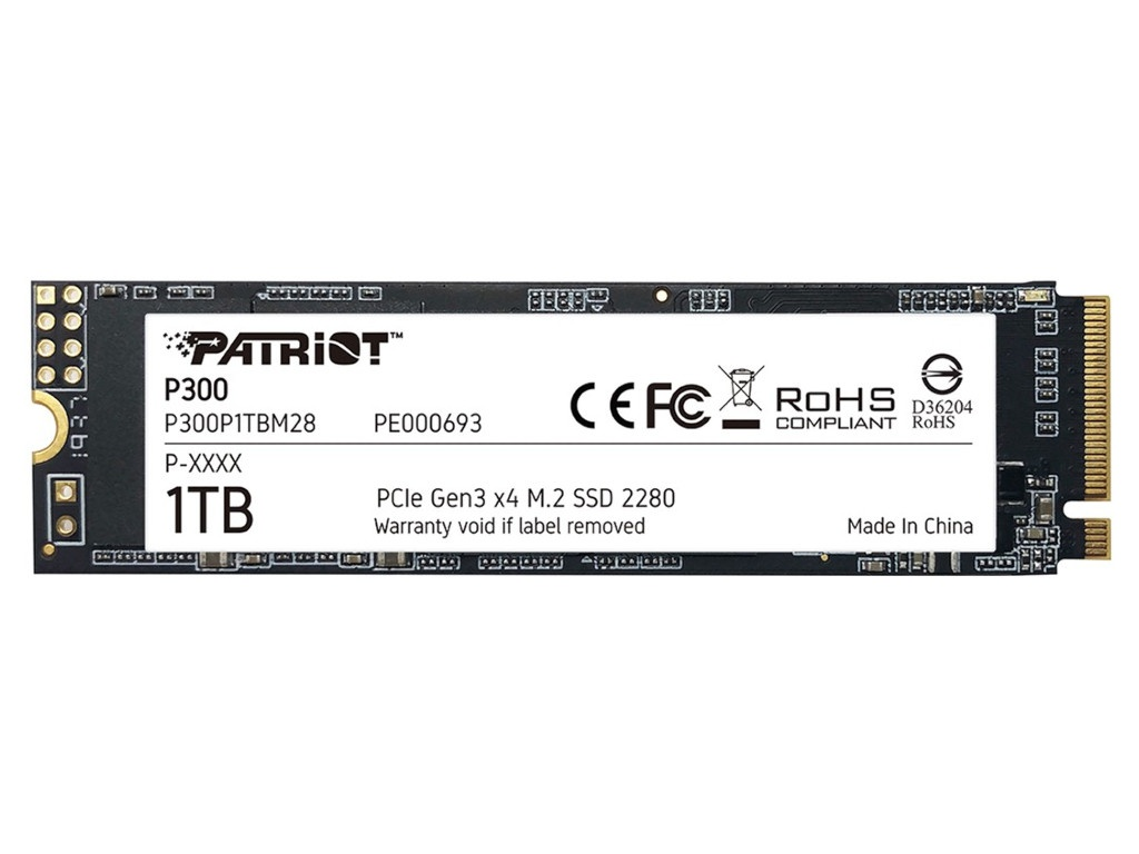 Жесткий диск Patriot Memory P300 1Tb P300P1TBM28