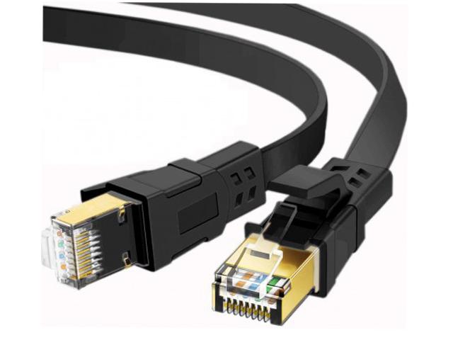 Сетевой кабель KS-is U/FTP Cat.8 RJ45 1.0m KS-411-1
