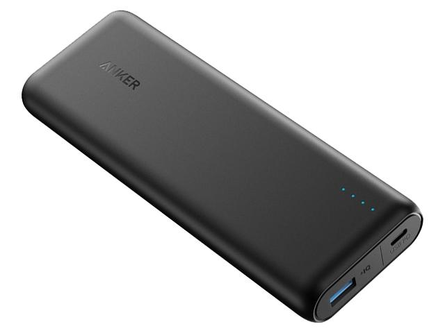 Внешний аккумулятор Anker PowerCore Speed 20000mAh PD Black A1275011 внешний аккумулятор anker powercore external battery 15600mah черный