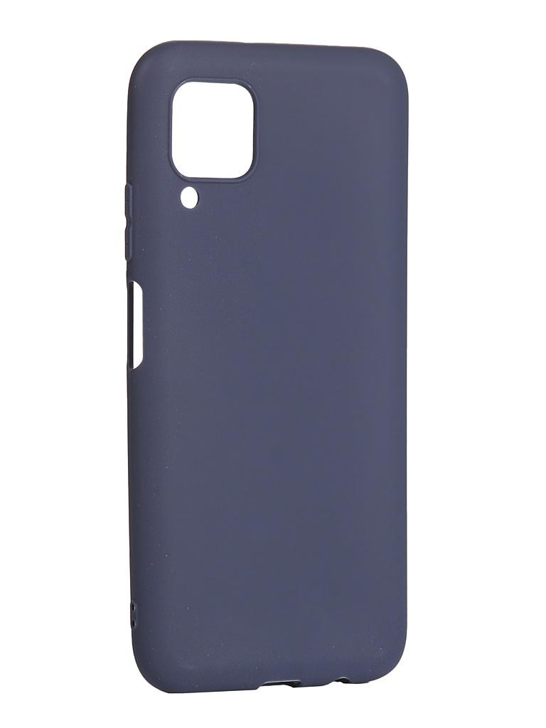 Чехол Zibelino для Huawei P40 Lite/Nova 6 SE Soft Matte Blue ZSM-HUA-P40-LT-DBLU