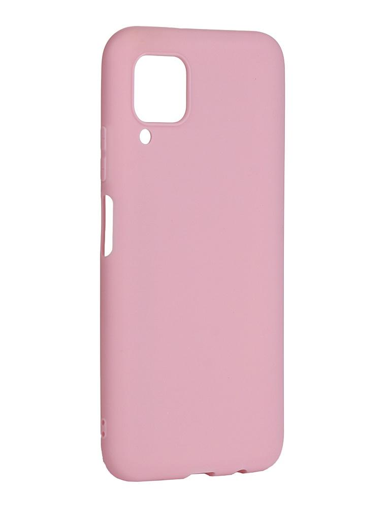 Чехол Zibelino для Huawei P40 Lite/Nova 6 SE Soft Matte Pink ZSM-HUA-P40-LT-PNK