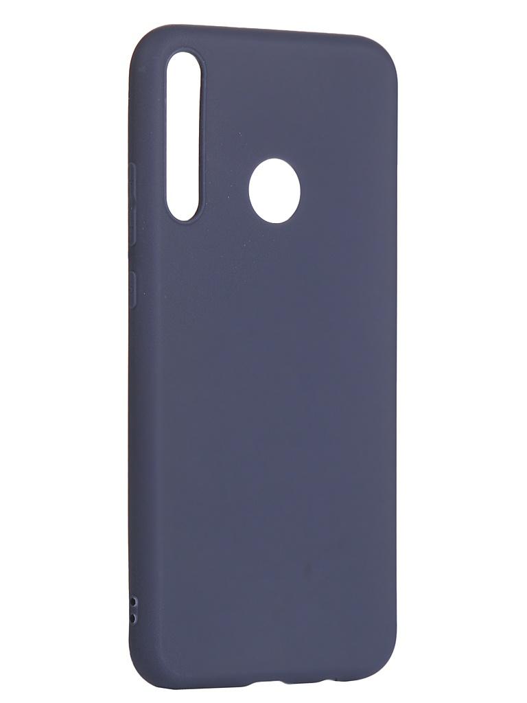 Чехол Zibelino для Honor 9C / P40 Lite E Soft Matte Blue ZSM-HUA-9C-DBLU