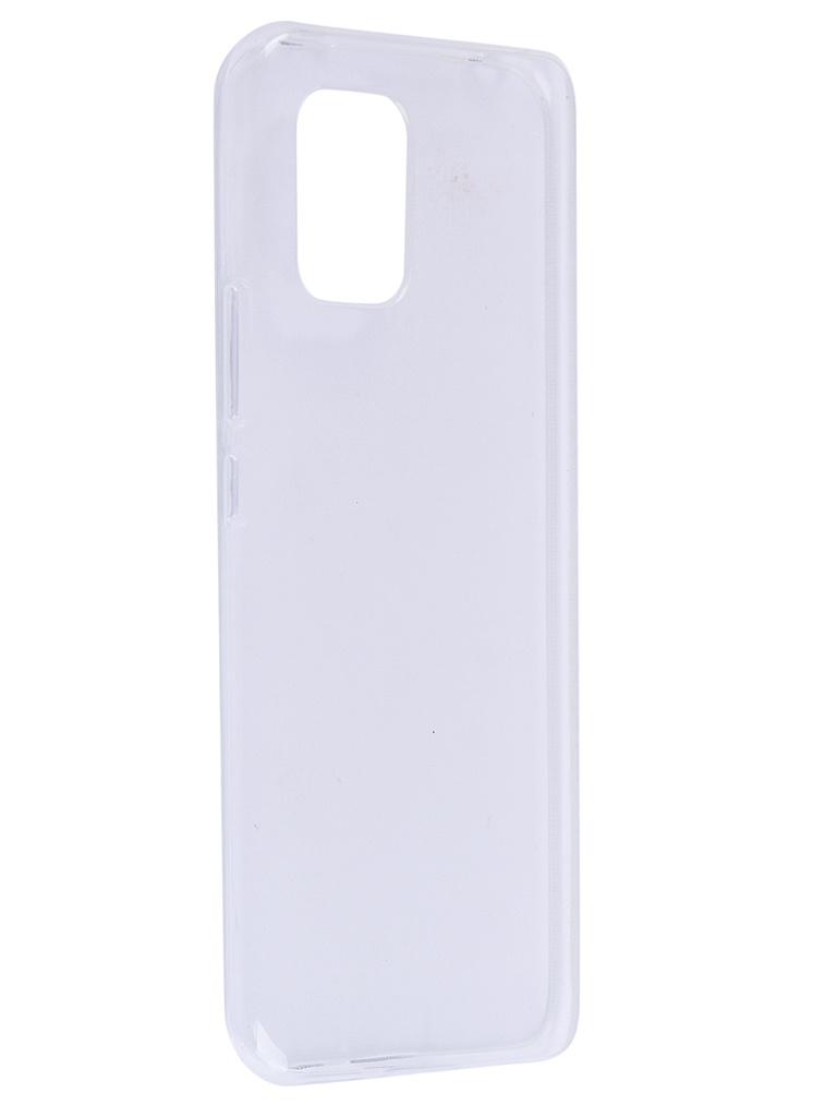 Чехол Zibelino для Xiaomi Mi10 Lite Ultra Thin Case Transparent ZUTC-XMI-MI10L-WHT