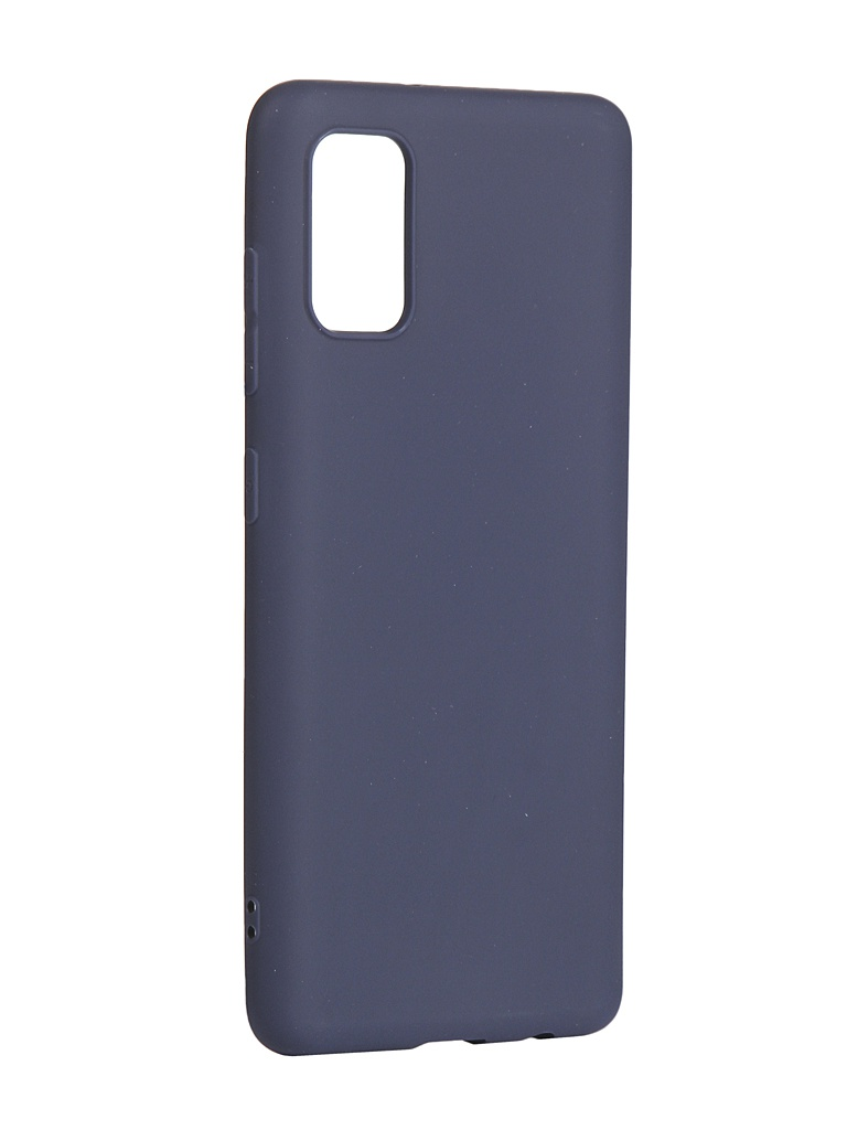 Чехол Zibelino для Samsung Galaxy A41 (A415) Soft Matte Blue ZSM-SAM-A41-DBLU
