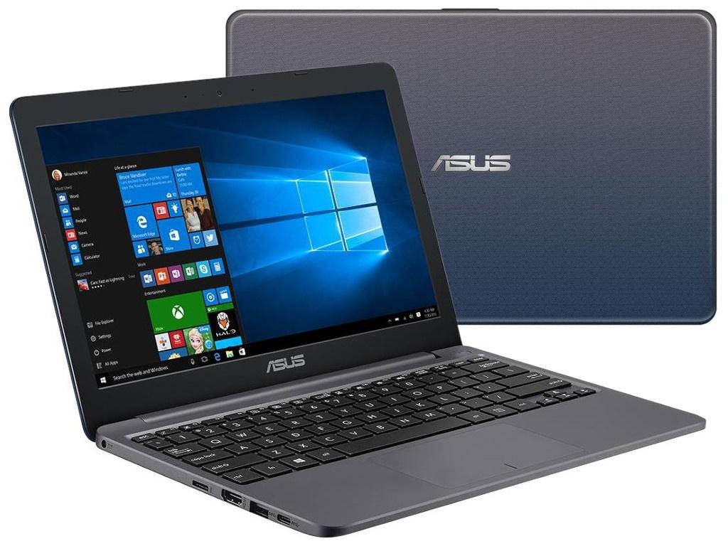 Ноутбук ASUS E203MA-FD001T 90NB0J02-M03120 (Intel Celeron N4000 1.1GHz/4096Mb/32Gb/Intel UHD Graphics/Wi-Fi/11.6/1366x768/Windows 10 64-bit) ноутбук