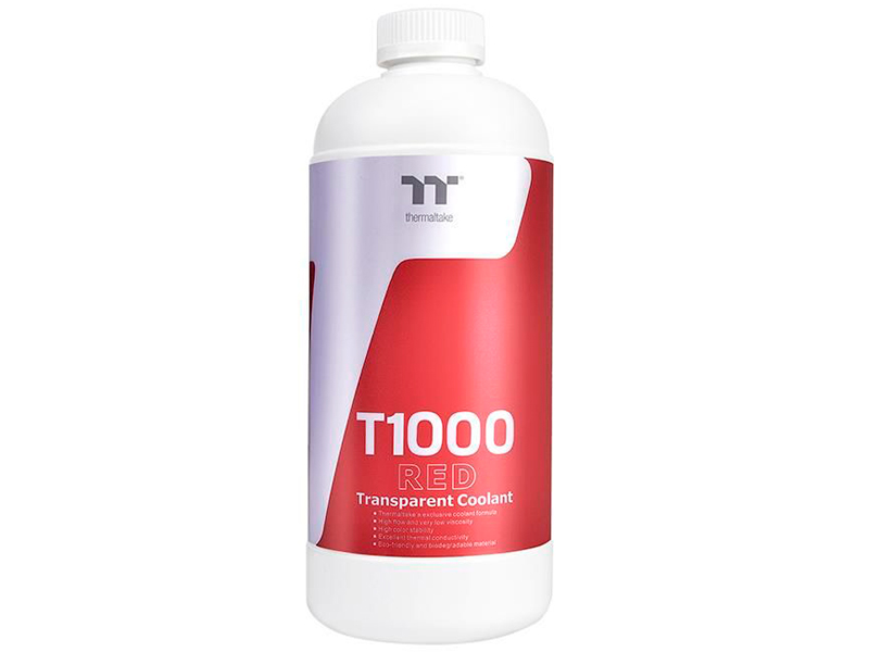 Хладагент Thermaltake T1000 1000ml Red CL-W245-OS00RE-A