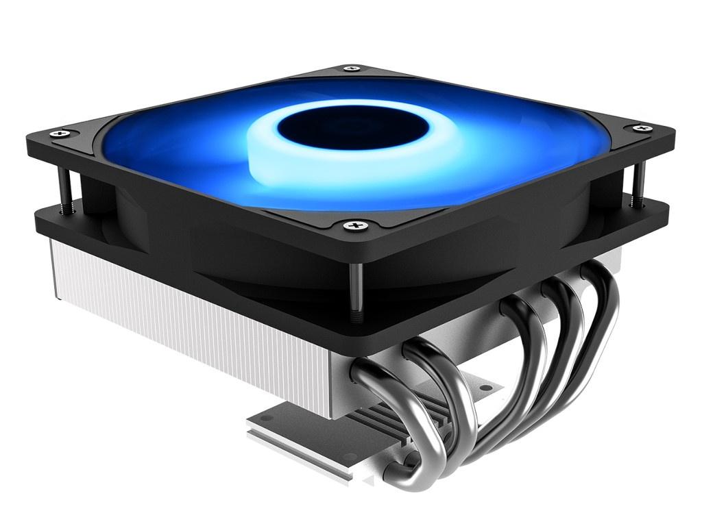 Кулер ID-Cooling Cooler IS-50 Max RGB (Intel LGA1151/1150/1155/1156// AMD AM4/FM2+/FM2/FM1/AM3+/AM3/AM2+/AM2) bykski cpu cooler for amd ryzen 3 5 7 am2 am2 am3 am3 am4 ryzen threadripper processor water block rgb argb cpu xph t8 m