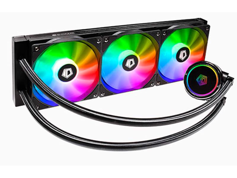 Водяное охлаждение ID-Cooling Cooler ZoomFlow 360X ARGB (Intel LGA2066/2011/1366/1151/1150/1155/1156// AMD TR4/AM4/FM2+/FM2/FM1/AM3+/AM3/AM2+/AM2)