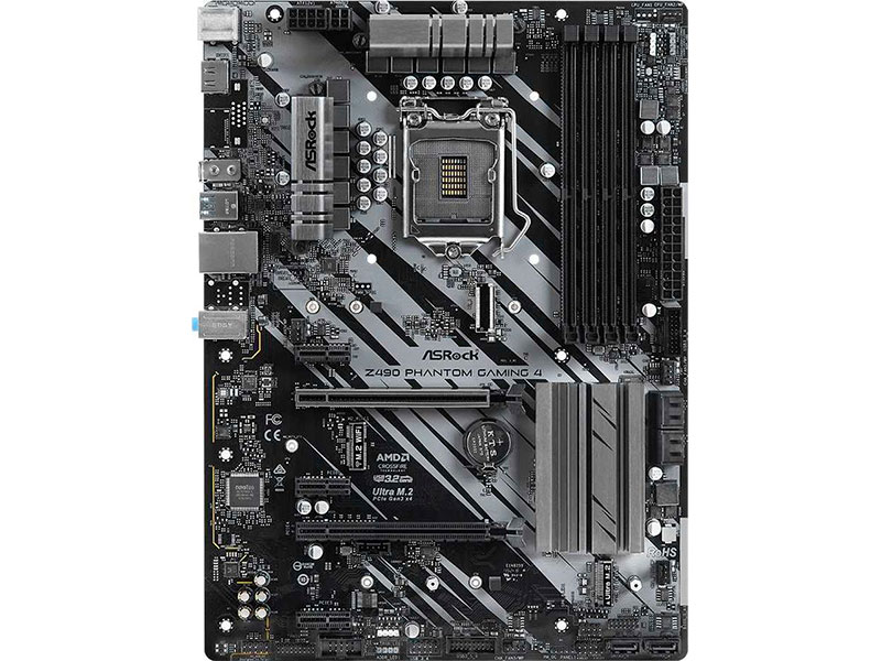 Материнская плата ASRock Z490 Phantom Gaming 4/AC