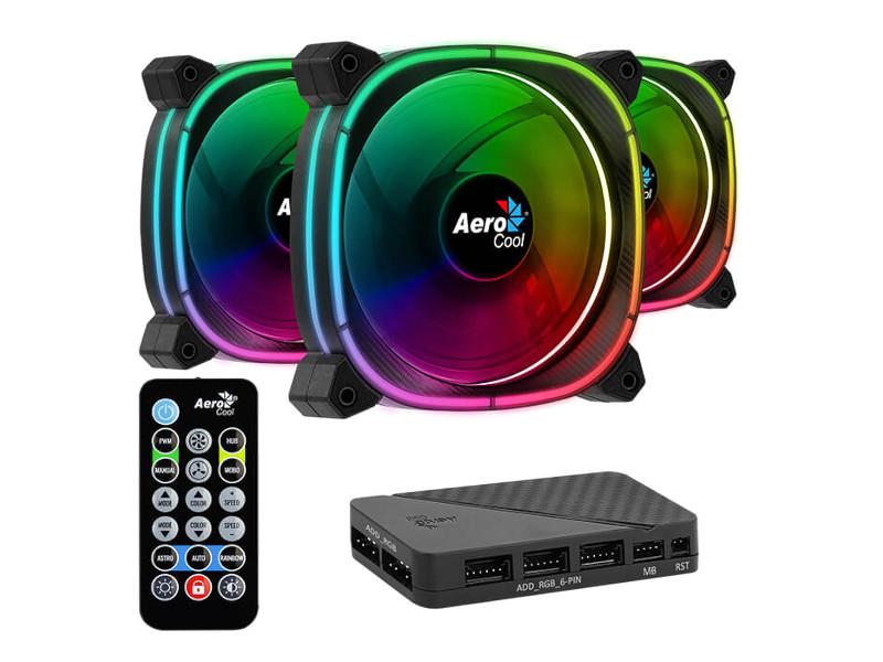 Вентилятор AeroCool Astro 12 Pro 3x120mm 4710562750164