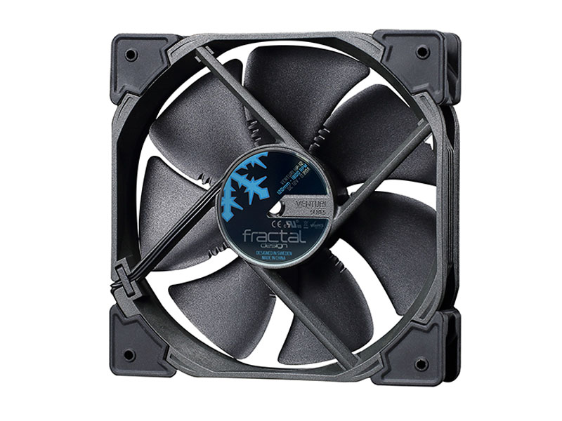 Вентилятор Fractal Design Venturi HP-12 PWM Black FD-FAN-VENT-HP12-PWM-BK